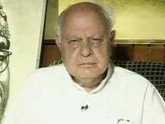 """""""Where Is The Promised Peace, Development?"""": Farooq Abdullah Questions BJP"""