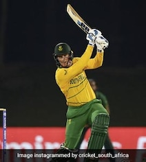 Watch: South Africa Batter Seals Win vs Pak, Reaches Ton On Last Ball