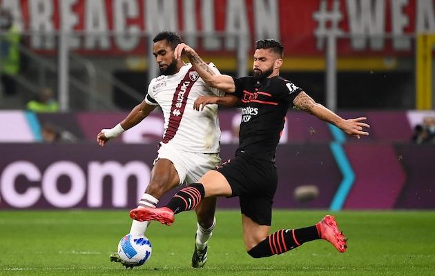 Olivier Giroud Fires Low-Key AC Milan Past Torino, Top Of Serie A