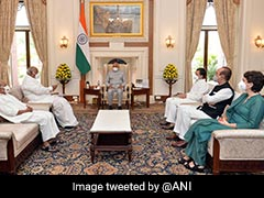 """""""Dismiss Minister, President Said He'll Talk To Government"""": Congress"""
