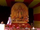 Video : No Mask, No Entry At Delhi's Oldest Durga Puja