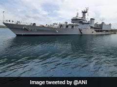 Six Indian Naval Ships Arrive In Sri Lanka To Boost Defence Cooperation