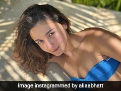 Alia Bhatt Makes All Our Midweek Blues Go Away One Blue Bikini At A Time