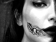 Is It Halloween Already? Shruti Haasan Shares Pics Of Face Doodle Done By Boyfriend Santanu Hazarika
