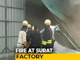 Video : 2 Dead In Fire At Surat Factory, 125 Rescued, Video Shows Calls For Help
