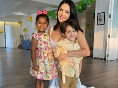 """How Sunny Leone Made Daughter Nisha's 6th Birthday Super Special: """"Light Of Our Lives"""""""