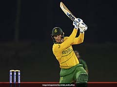 Watch: South Africa's Rassie Van Der Dussen Seals Win vs Pakistan And Reaches Hundred With A Boundary On Last Ball