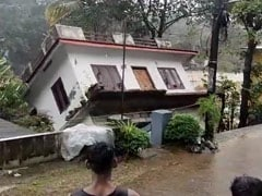 Video: House Collapses Into River In Kerala Amid Heavy Rain
