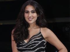 Sara Ali Khan Channels Jungle Glamour In A Sparkling Zebra Print Mini Dress