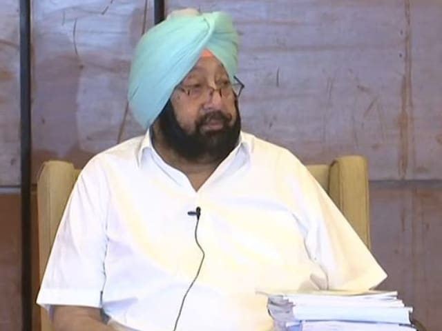 """Video : Amarinder Singh To Form New Party, Navjot Sidhu's Prompt """"BJP Loyal"""" Jibe"""