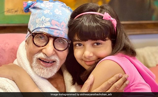 Amitabh Bachchan's Birthday Celebrations Wrapped With Adorable Wishes From Aishwarya And Aaradhya