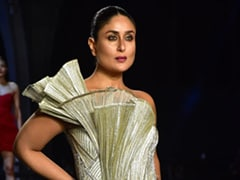 Kareena Kapoor Drips Gold Like A Diva For Gaurav Gupta At Lakme Fashion Week 2021