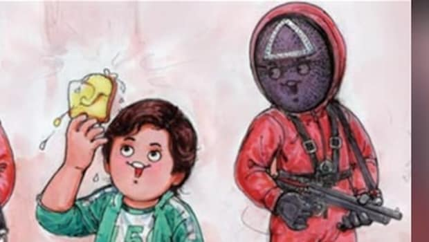 Butter Instead Of Dalgona Candy? Amul Releases 'Squid Games' Inspired Cartoon