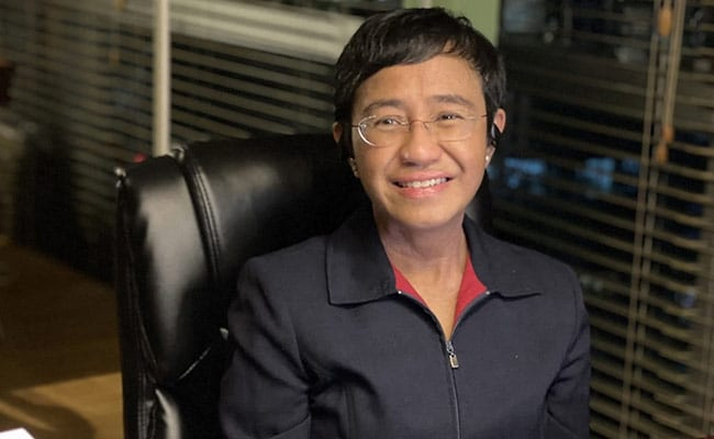 , Without Facts, No Truth, No Democracy: Nobel Peace Winner Maria Ressa, The World Live Breaking News Coverage & Updates IN ENGLISH