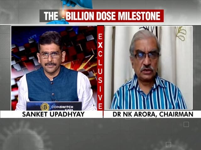 """Video : """"Next Billion Doses Likely In 3 To 4 Months"""": Vaccine Panel Head To NDTV"""
