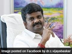 Former Tamil Nadu Health Minister Raided In Disproportionate Assets Case