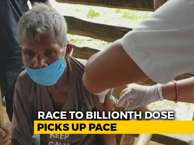 Video : Race To Billionth Vaccine Dose Picks Up Pace