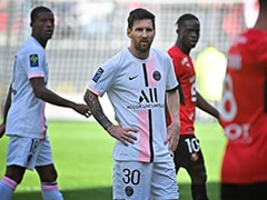 Lionel Messi Suffers First PSG Defeat In Loss At Rennes