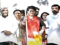Priyanka Gandhi Flags Off Congress's <i> 'Pratigya Yatra' </i> In Uttar Pradesh