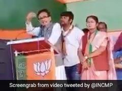 "Congress Vs BJP Over Madhya Pradesh Minister's ""Inappropriate"" Video"