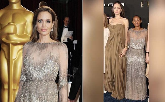 Angelina Jolie's Daughter Zahara Wore Mom's Dress To Eternals Premiere