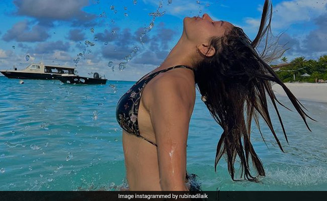 Rubina Dilaik Makes A Splash On Instagram With A Pic From Maldives