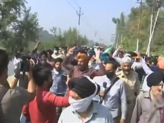 Video : Protests In Jammu Over Targeted Killings