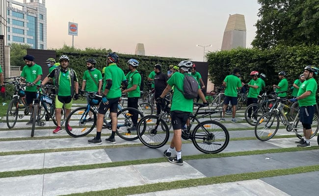 Cycle Rally In Delhi To Create Awareness On Mental Health Issues