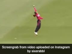 Watch: India's Radha Yadav Takes One-Handed Stunner Playing For Sydney Sixers In WBBL 2021