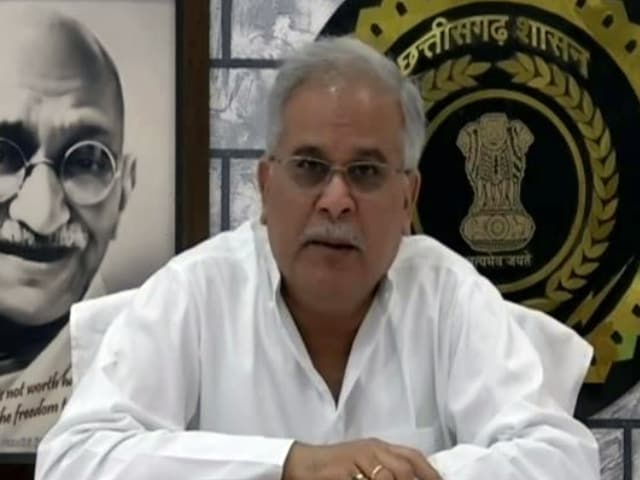 Video : People Disillusioned With Maoists, Connecting With State Initiatives On Health, Education: Bhupesh Baghel