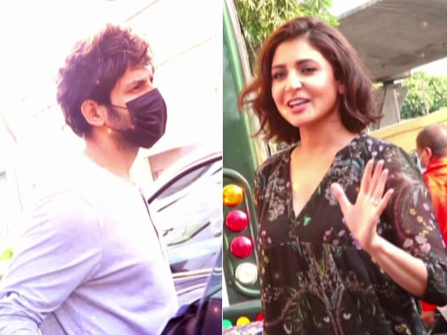 Video : What's Keeping Anushka, Kartik And Other Stars Busy