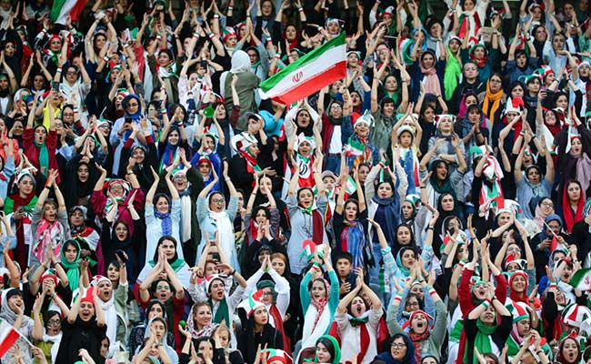 Iran To Allow Women Fans For Football Match For First Time In 2 Years