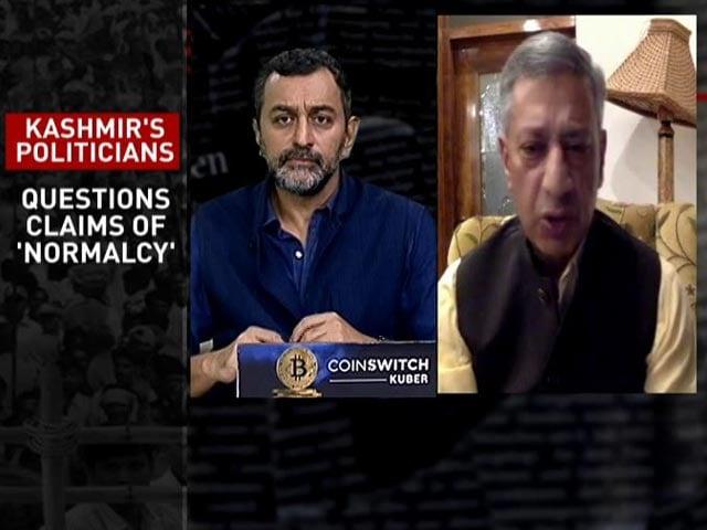 Video : 'Situation In Kashmir Reminds Me Of 1990s': Former J&K DGP