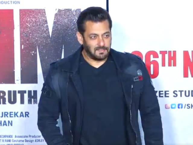 Video : Salman Khan And Aayush Sharma Launch Trailer Of <i>Antim</i> In Style