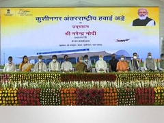Airport In UP's Kushinagar Launched By PM, First Flight From Sri Lanka
