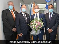 S Jaishankar In Israel For High-Level Talks For Further Enriching Strategic Ties