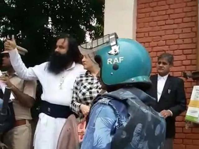 Video : Dera Chief's Sentencing In Murder Case Of Ex Sect Manager Today