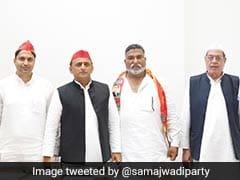 Former BSP MP Kadir Rana Joins Samajwadi Party Ahead Of UP Assembly Polls