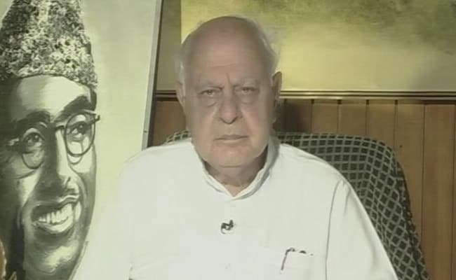 """""""Where Is The Promised Peace, Development?"""": Farooq Abdullah Asks BJP"""