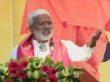"""Video : Watch - """"Being Politician Doesn't Mean You Mow Down Anyone"""": BJP Leader"""