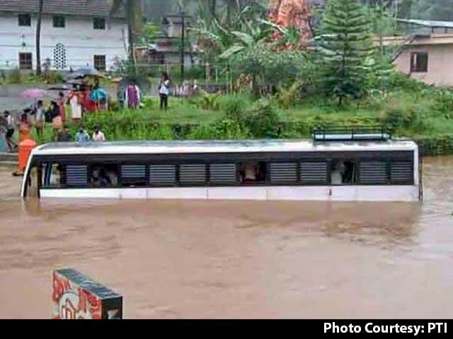 Video : 5 Dead, Many Missing As Kerala Rain Causes Floods, Landslides