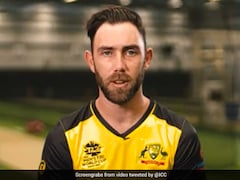 """Watch: """"What Do You Call This One?"""" Asks ICC As Glenn Maxwell Attempts Unusual Shot In Nets"""