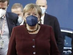 "European Union Leaders Bid Adieu To Germany's Merkel With- ""Space Egg"""