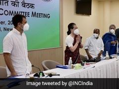 """I <i>Am</i> Full-Time President"": Sonia Gandhi To 'G-23' At Key Congress Meet"