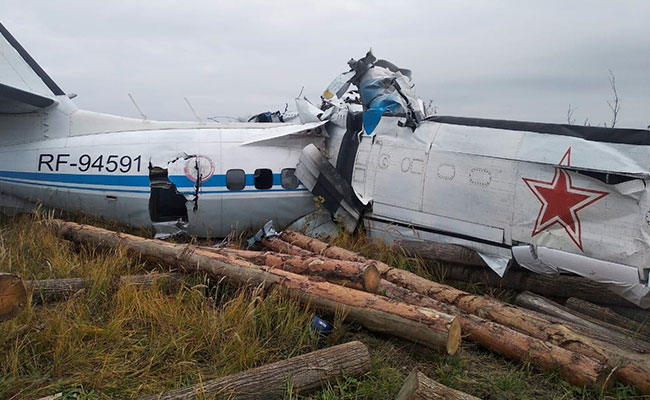 16 killed in plane crash in Russia: Ministry