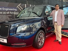 LEVC To Launch The Electric TX Vehicle In India
