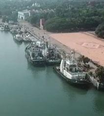 Watch: Ships At India's Major Ports Hoot To Mark A Billion Covid Jabs