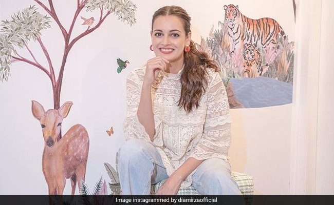 Dia Mirza's 'Favourite Place In The World' Is Son Avyaan's Nursery. Easy To See Why