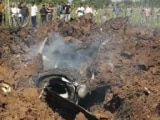 Video : Air Force's Mirage-2000 Crashes In Madhya Pradesh, Pilot Ejects Safely