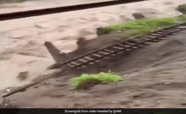 Delhi-Nainital Train Services Stopped As Heavy Rain Damages Tracks